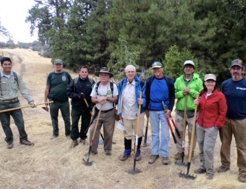 $10,000 matching grant from National Wilderness Stewardship Alliance